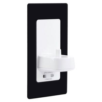 Electric Toothbrush Wall Charger Shaver Socket Black