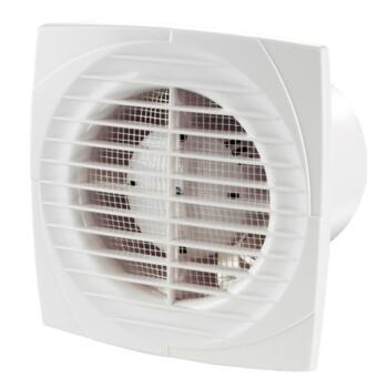 """White Slimline Extractor Fan 4"""" 100mm - Standard"""