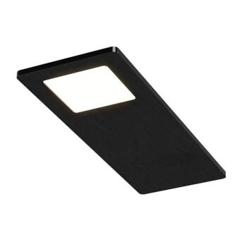 Astro Triotone Under Cabinet Light Matt Black - Single Light Colour Adjustable