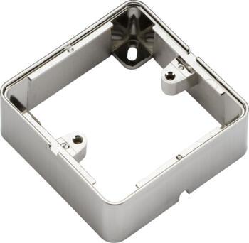 Brushed Chrome Surface Back Box - 1gsboxbc