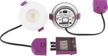 SpektroLED 8w IP65 Fire Rated CCT LED Downlight - Fitting