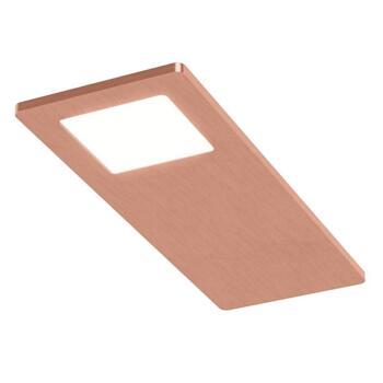 Astro Triotone Under Cabinet Light Brushed Satin Copper - Single Light Colour Adjustable
