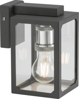 Anthracite Box wall Lantern IP23 - LANTBK