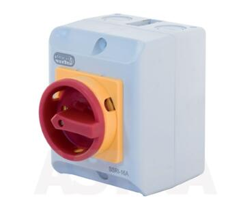 IP65 Rotary Isolator Switch -Indoor or Outdoor Use - 16A / 8kW Isolator Switch