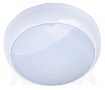 Energy Saving HF Light Fitting - IP44 16W/28W/38W - 16W - White Bezel / Opal Cover