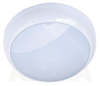 Energy Saving HF Light Fitting - IP44 16W/28W/38W - 28W - White Bezel / Opal Cover