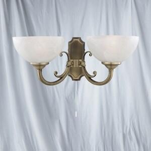 Windsor Wall Light - 2 Light 3772-2AB - Antique Brass
