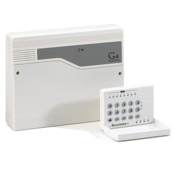 Accenta Mini Control Panel - Gen4 Intruder Panel - White Finish