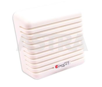 Extension Speaker - 12W Alarm Speaker - White Finish