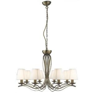 Andretti Ceiling Light - 8 Light 9828-8AB - Antique Brass
