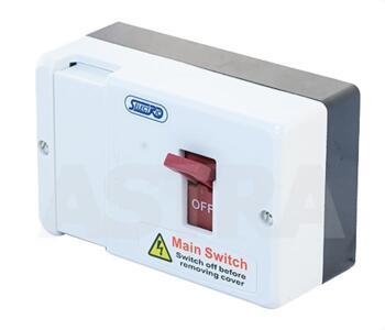 80 Amp Fused Main Switch  - White Main Switch