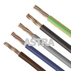 4MM Singles Cable - 6491X Cable - Brown - Price per 100m drum
