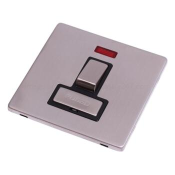 Screwless Stainless Steel Sw Fused Spur/Neon Ingot - With Black Interior
