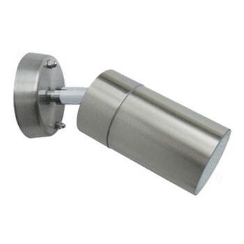 Stainless Steel GU10 Wall Light - IP65 Adjustable - Stainless Steel Finish