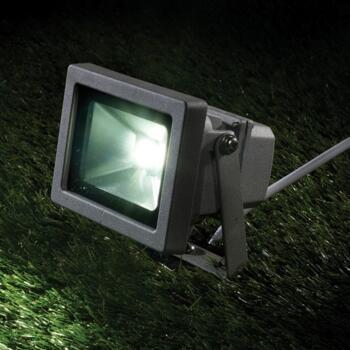 LED Floodlight - 25W with PIR Outdoor Light - Ground Spike