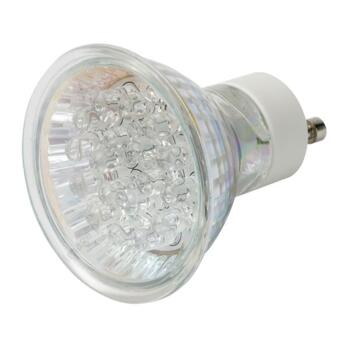 GU10 LED Lamp - 1.8W Colour Cluster GULED - Red