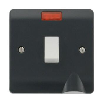 Part M 20A Double Pole Switch - 20A DP Switch - 1 Gang