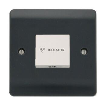 Part M Fan Isolator Switch - 10A 3 Pole Switch - Fan Isolation Switch