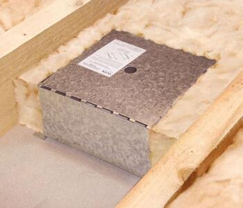 Insulation Support Box GB400 - 220mm x 220mm x 120mm Deep