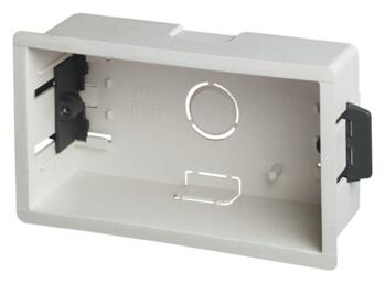 47mm Double Plasterboard Backbox - Double Backbox