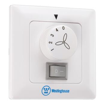 Westinghouse Ceiling Fan Wall Control/Switch-White - White