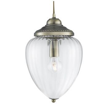 Hall Lantern - Single Light 1091AB - Antique Brass