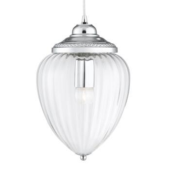 Hall Lantern - Single Light 1091CC - Chrome