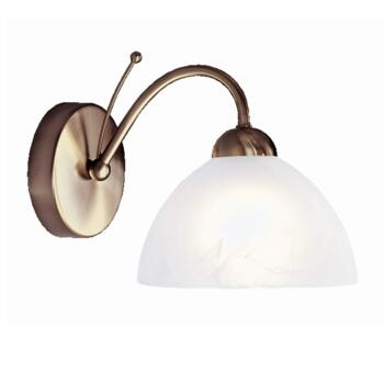 Milanese Wall Light - Single Light 1131-1AB - Antique Brass