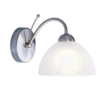 Milanese Wall Light - Single Light 1131-1SS - Satin Silver