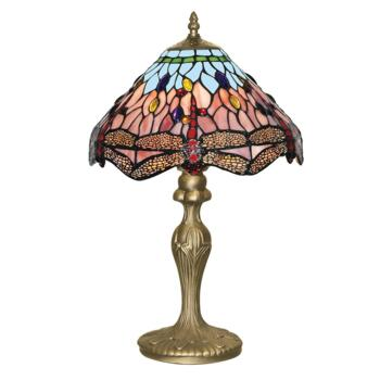 Tiffany Table Lamp - Bronze Dragonfly 1287 - Antique Weathered Bronze