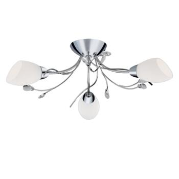 Gardenia Ceiling Light - Chrome 3 Light 1763-3CC  - Chrome Finish