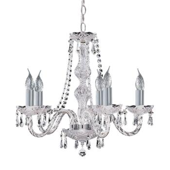Hale Chandelier - 5 Light Ceiling Light 215-5 - Chrome Finish