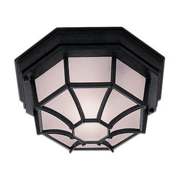 Outdoor / Porch Light - Cast Aluminium 2942BK - Black Finish