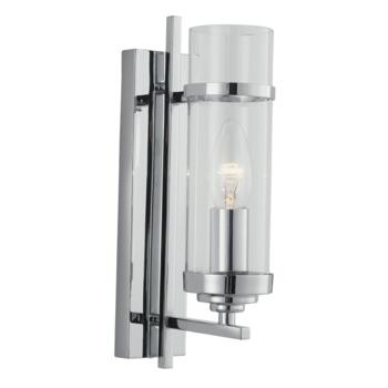 Milo Wall Light - Single Light 3091-1CC - Chrome