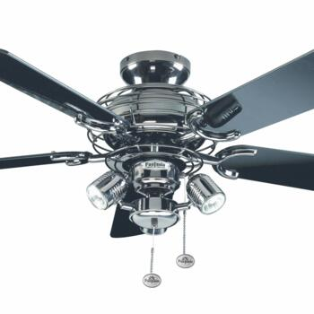 """Fantasia Gemini Ceiling Fan - Pewter  - 42"""" (1070mm) With Lights"""