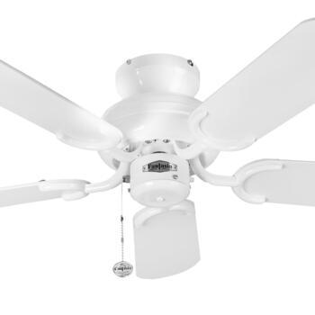 """Fantasia Capri Ceiling Fan - White - 36"""" (910mm)"""