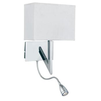 Wall Light - Dual Arm Switched Light - 3299CC - Chrome