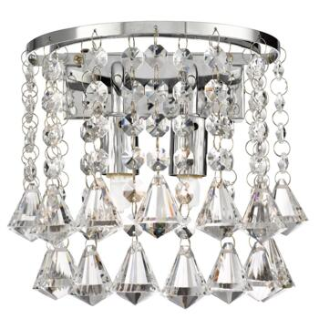 Hanna Wall Light -2 Light 3302-2CC - Chrome