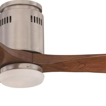 "Fantasia Zeta Ceiling Fan - Brushed Nickel - 52"" (1320mm)"