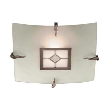 Tiffany Ceiling Light - Flush 4207-30 - Antique Brass