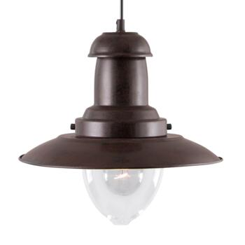 Fisherman Ceiling Light - Pendant Light 4301RU - Rustic Brown