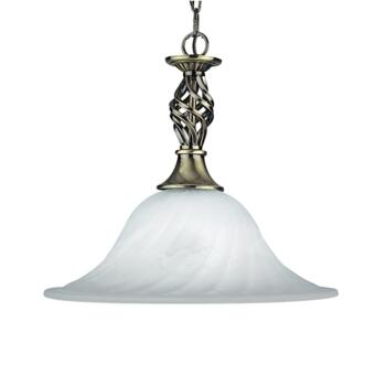 Cameroon Pendant Light - Antique Brass 4581-14AB - Antique Brass