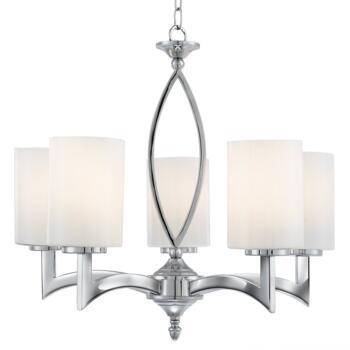 Gina Ceiling Light - 5 Light 4995-5CC - Chrome