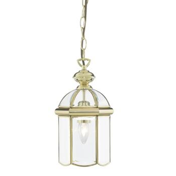 Hall Lantern - Solid Polished Brass 5131PB - Polished Brass