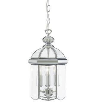 Hall Lantern - Chrome 5133CC 3 Light **out of stock till 1/3/21**