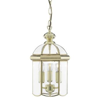 Hall Lantern - Polished Brass 5133PB 3 Light - Solid Brass