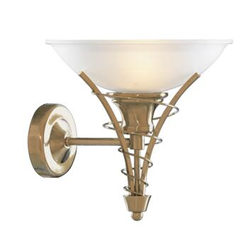 Linea Wall Light - Single Light 5227AB - Antique Brass