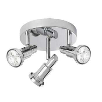 Torch Spotlight - 3 Light LED Spotlight 5343CC - Chrome Finish