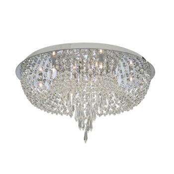 Bijoux Crystal Ceiling Light - 10 Light 5541CC - Chrome
