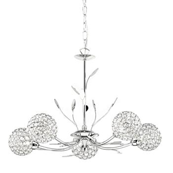 Bellis II Ceiling Light - 5 Light 5575-5CC - Chrome Finish